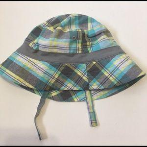 Babies Plaid Bucket Hat size 18 months